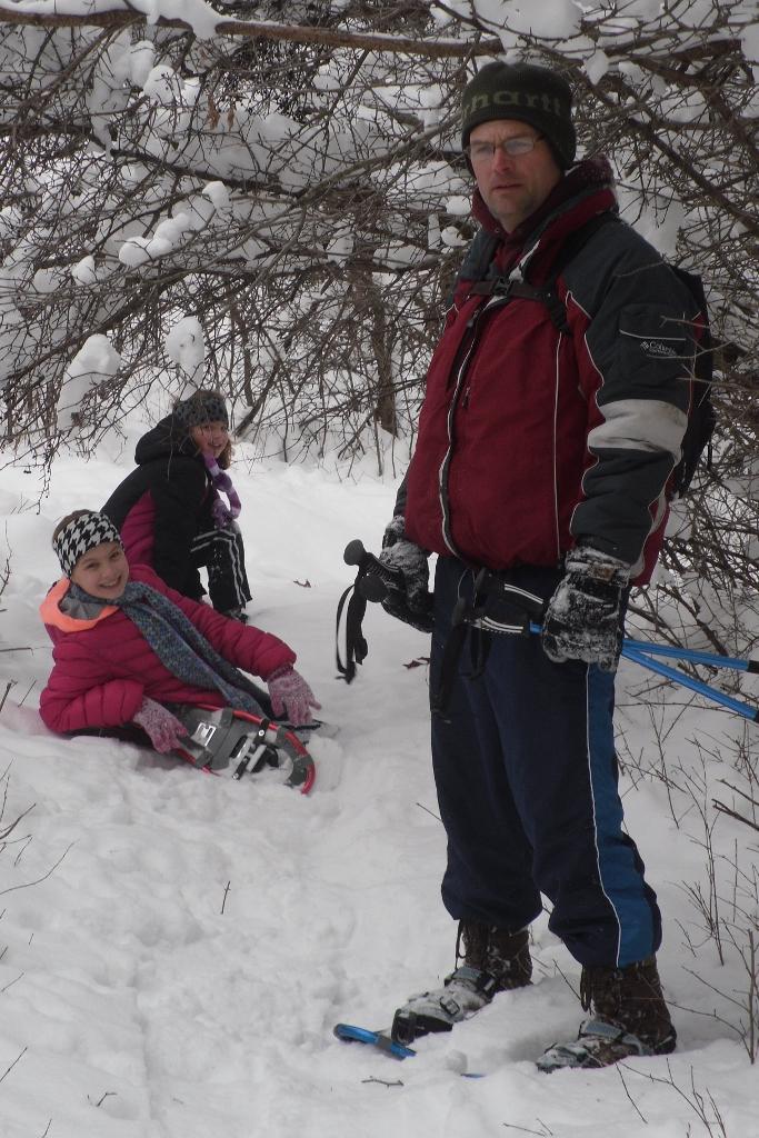 3 snowshoes
