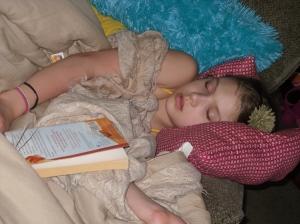 lydia sleeping