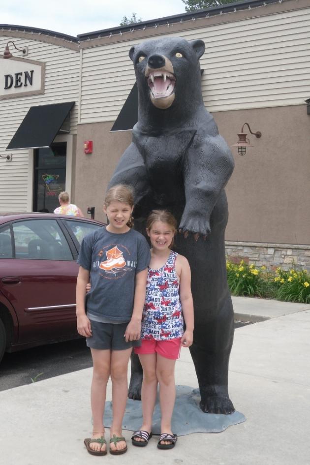 at bear's den