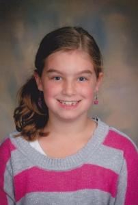Carly 3rd grade