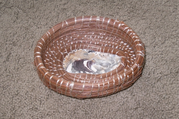 Georgia Pine Needle Basket