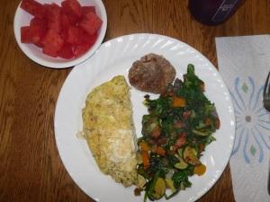 Day 10 breakfast