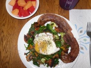 Day 11 breakfast