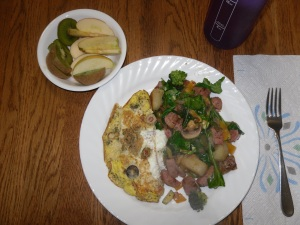 Day 13 breakfast