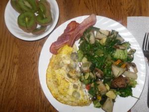 Day 18 breakfast
