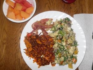 Day 21 breakfast