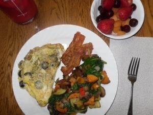 Day 24 breakfast