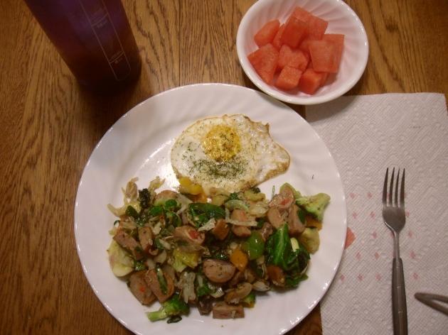 Day 5 breakfast