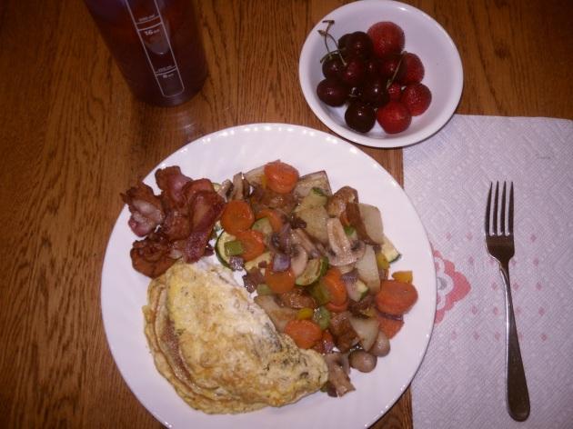 Day 6 breakfast