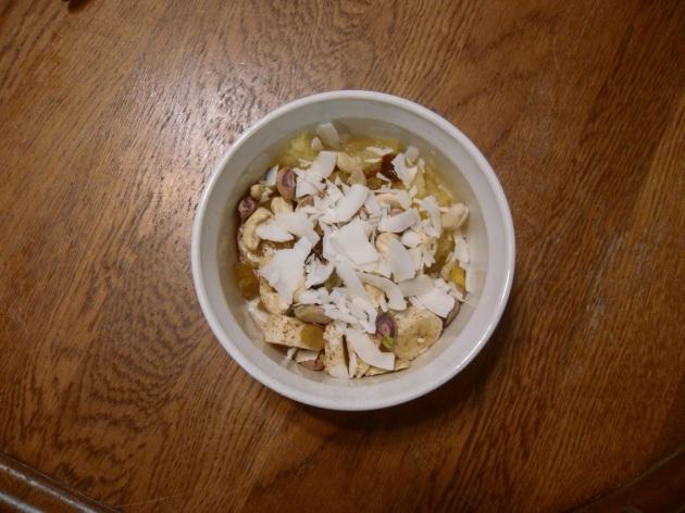 Day 6 night snack