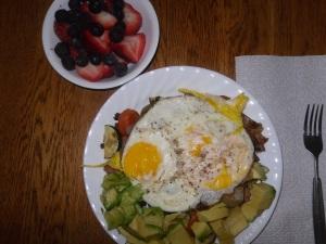 Day 30 breakfast