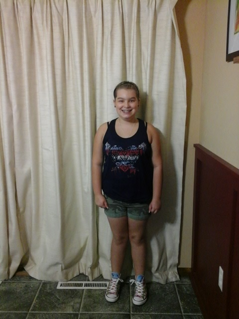 1st day of 5th grade