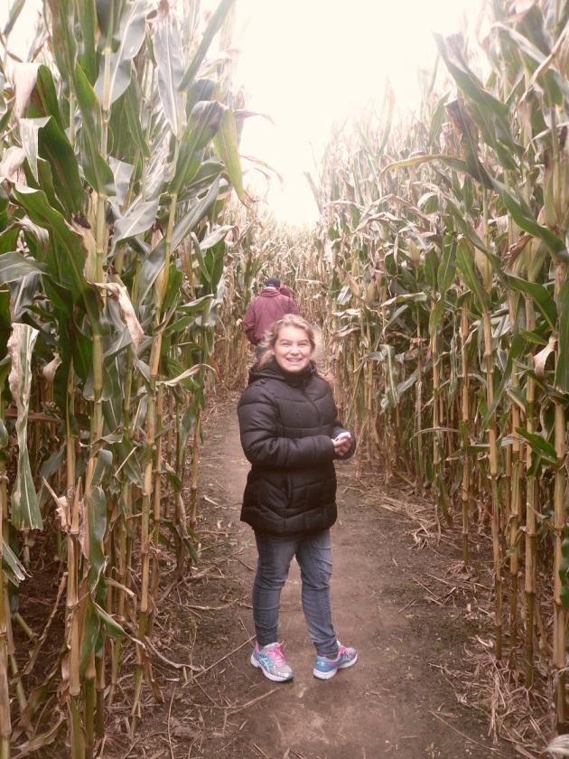 Corn Maze Carly