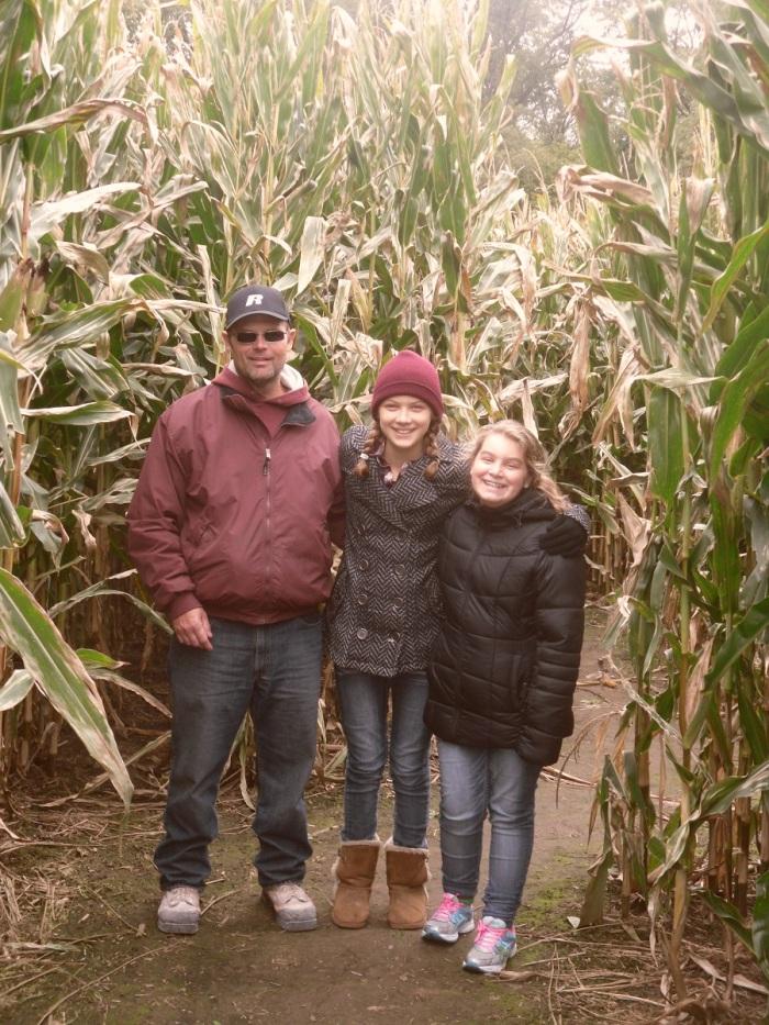family corn maze