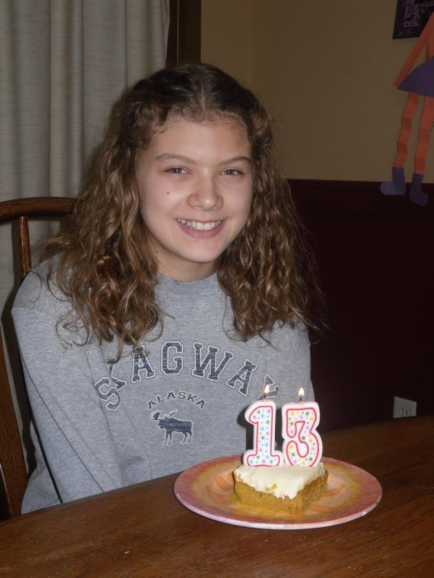 Lydia age 13