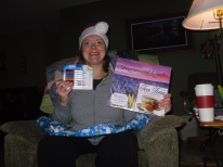 mom with calendar